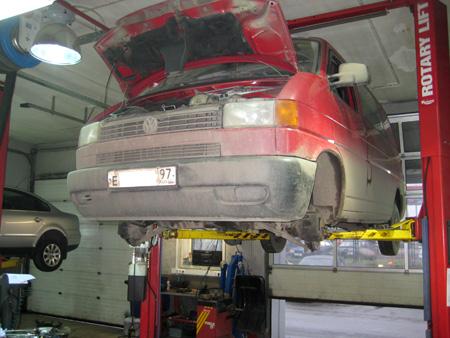 ремонт подвески микроавтобусов
