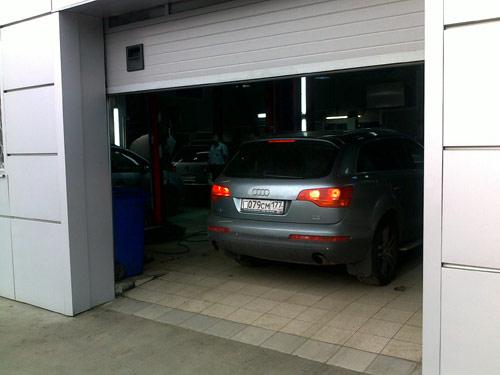 Центр Ауди ремонт внедорожников Audi Q7