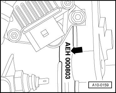Номер двигателя AEH, AKL- фольксваген Гольф, Бора 1998-2005, Ауди А3 1997-2002
