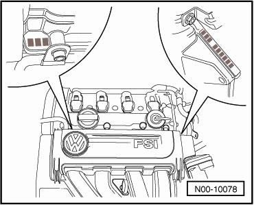 номер двигателя фольксваген Пассат В6 2005-2006, Jetta 2005-2006, Golf 2005-2006, Touran 2005-2006, Audi A3 2005-2006