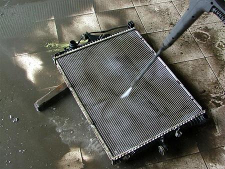Промывка радиатора Seat