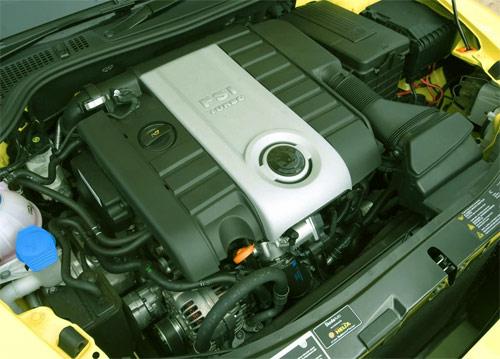ремонт двигателей шкода