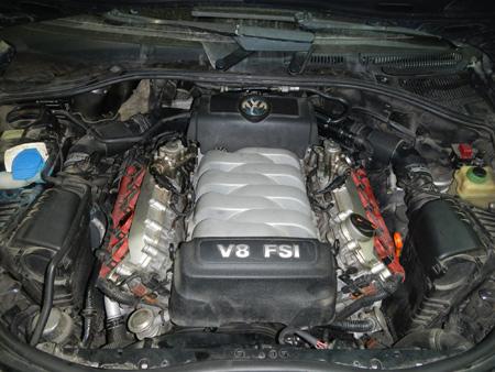 Туарег двигатель V8