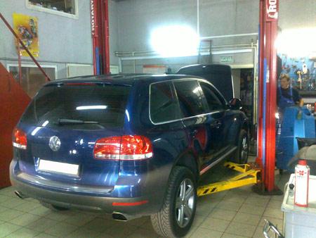 Агранд - ремонт автомобилей фольксваген туарег