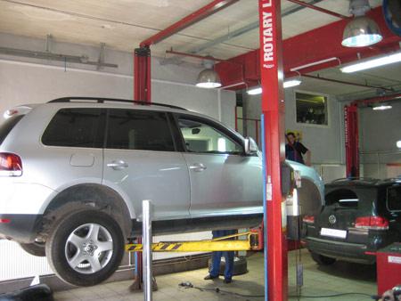 ������ ���������������� �� ������� VW Touareg