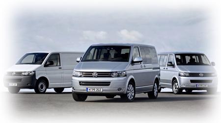 Автомобили Volkswagen Transporter в 2011 году