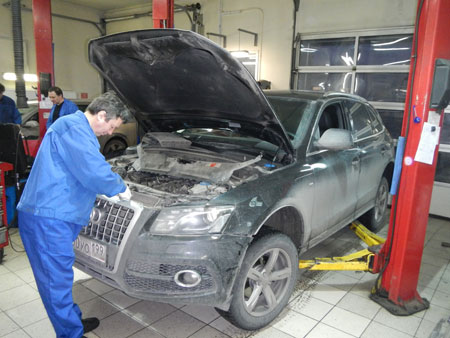 Замена ГРМ Audi Q5