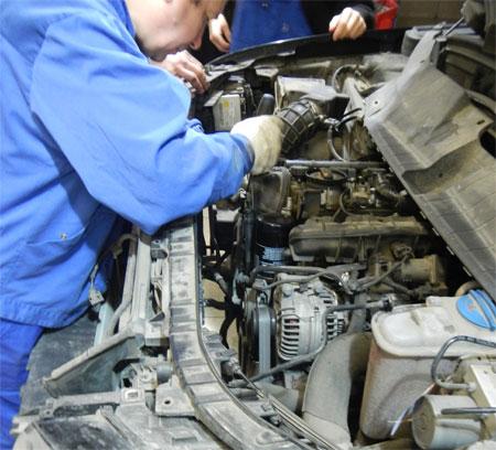 Замена цепей ГРМ Audi Q5 2.0 TFSI