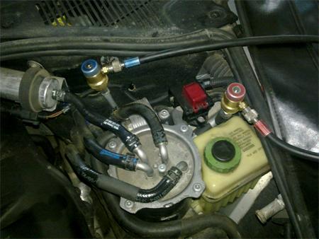 Заправка кондиционера Volkswagen Audi Skoda